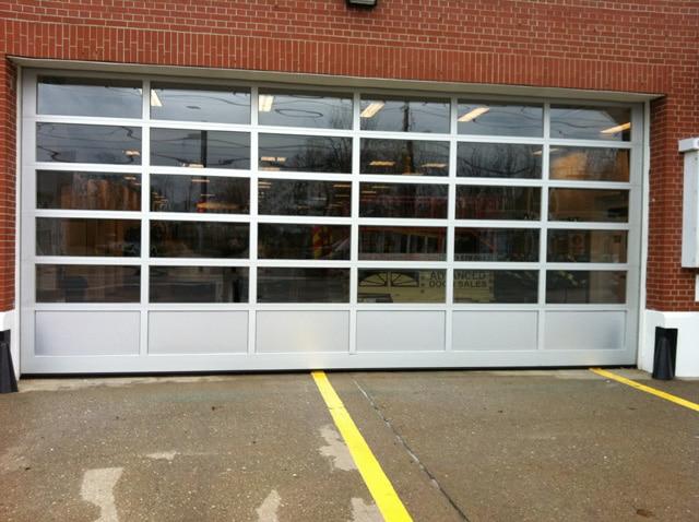 Manhattan Aluminum Garage Doors