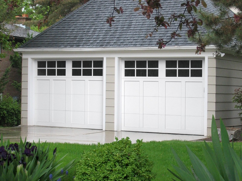 Franklin Aluminum Garage Doors